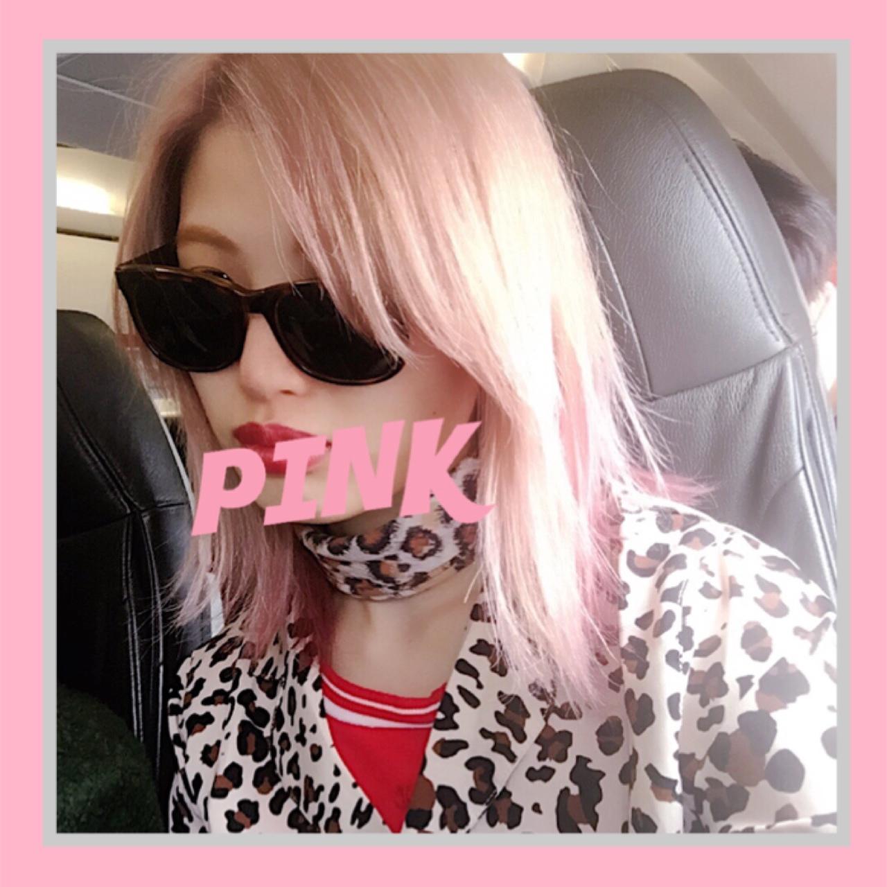 ピンクヘアにしました♡ #インナーカラー