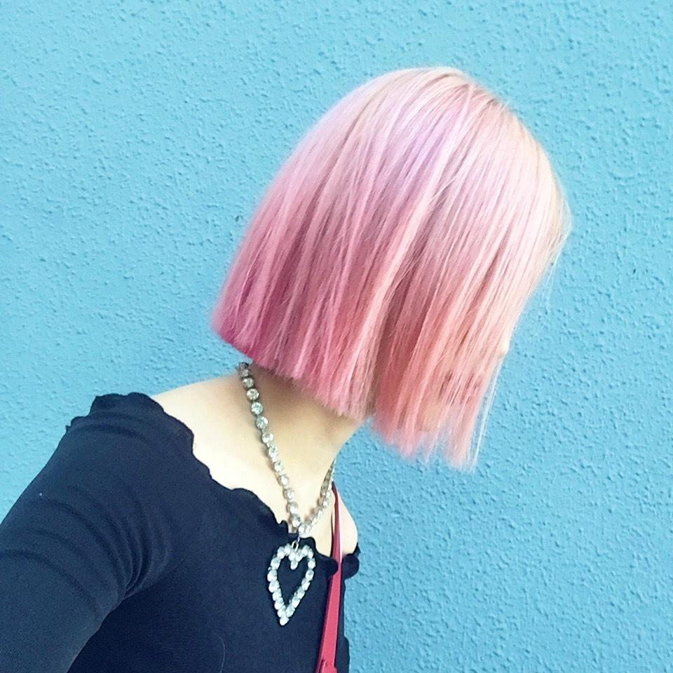 New hair  髪型を変えました♡