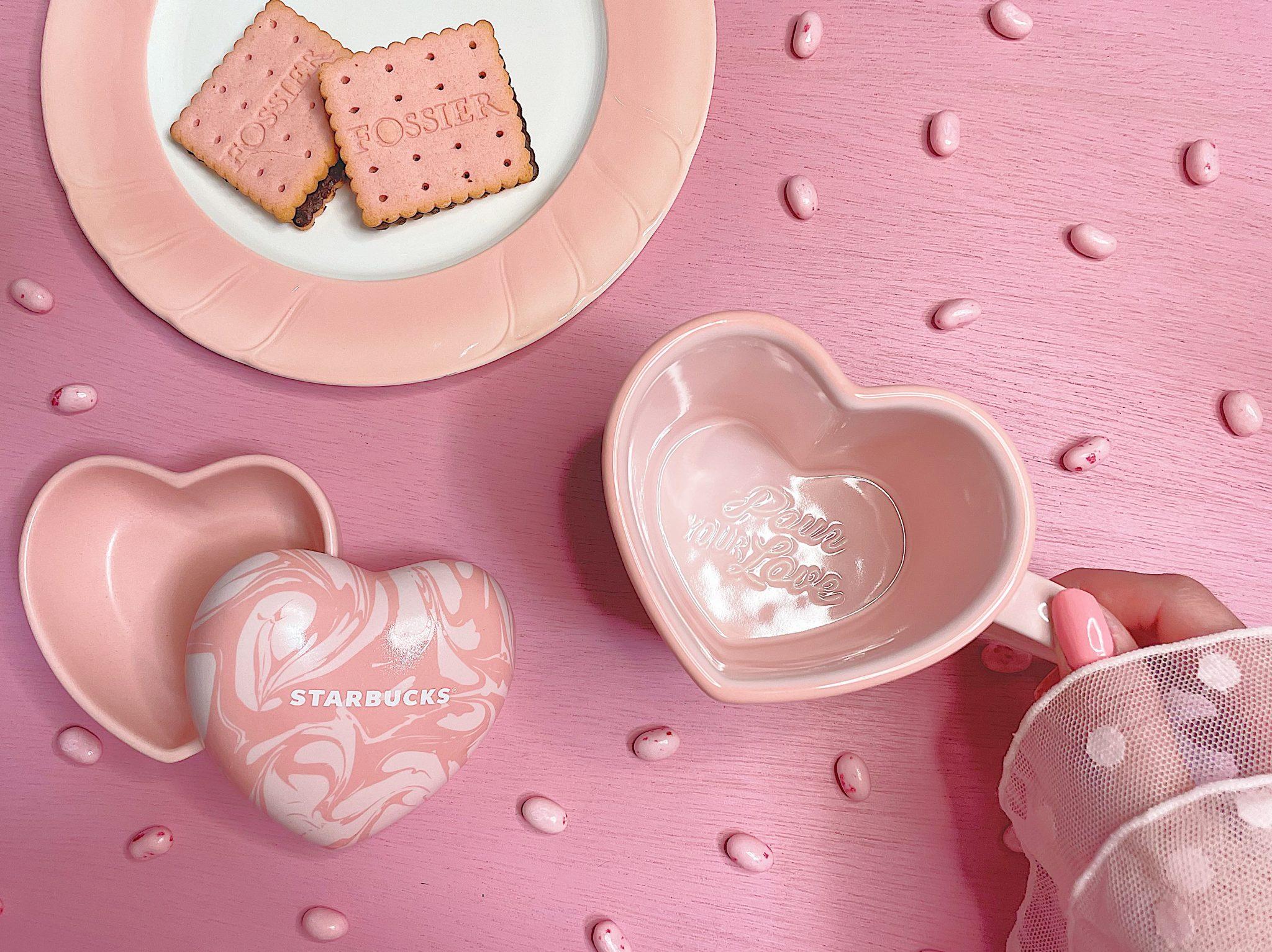 #starbucks のバレンタイングッズがかわいすぎる♡