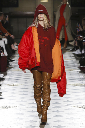 Vetements Fashion Show, Ready To Wear Collection Fall Winter 2016 in Paris