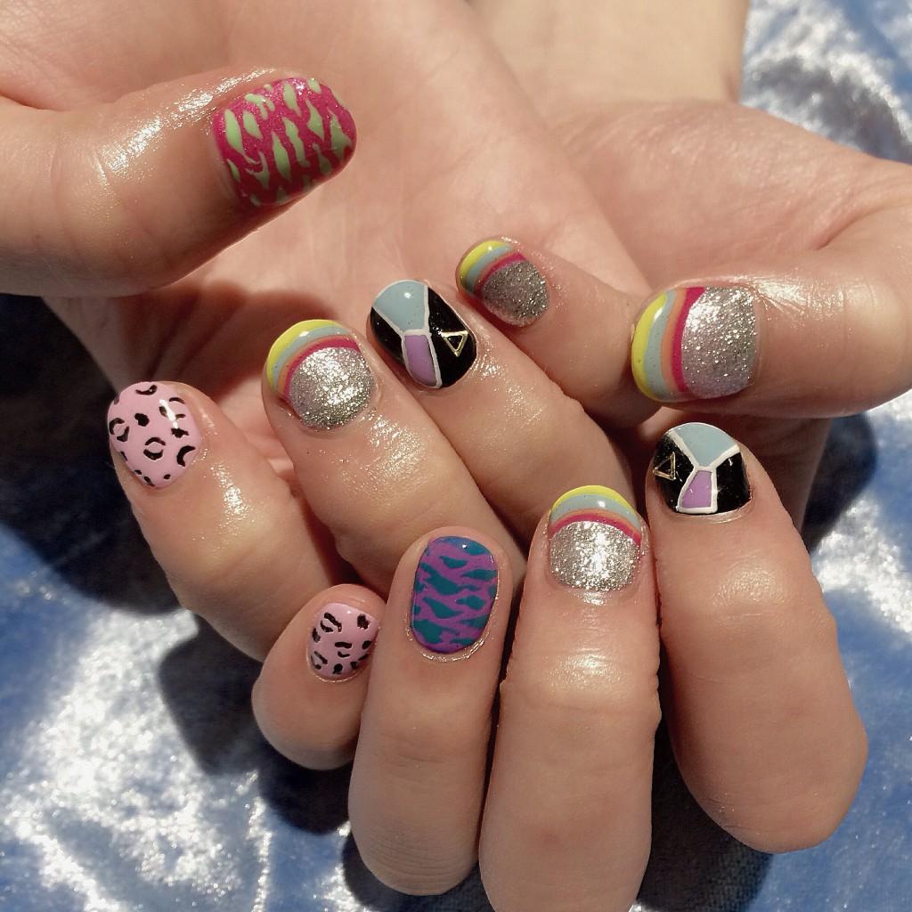 New nailは「MARC JACOBS」のコレクションにインスピレーションを受けて♡#nail #marcjacobs