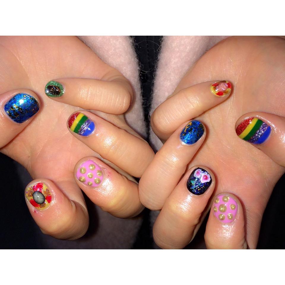 New nail♡うっとりするくらい美しいGUCCIネイル♡#nail