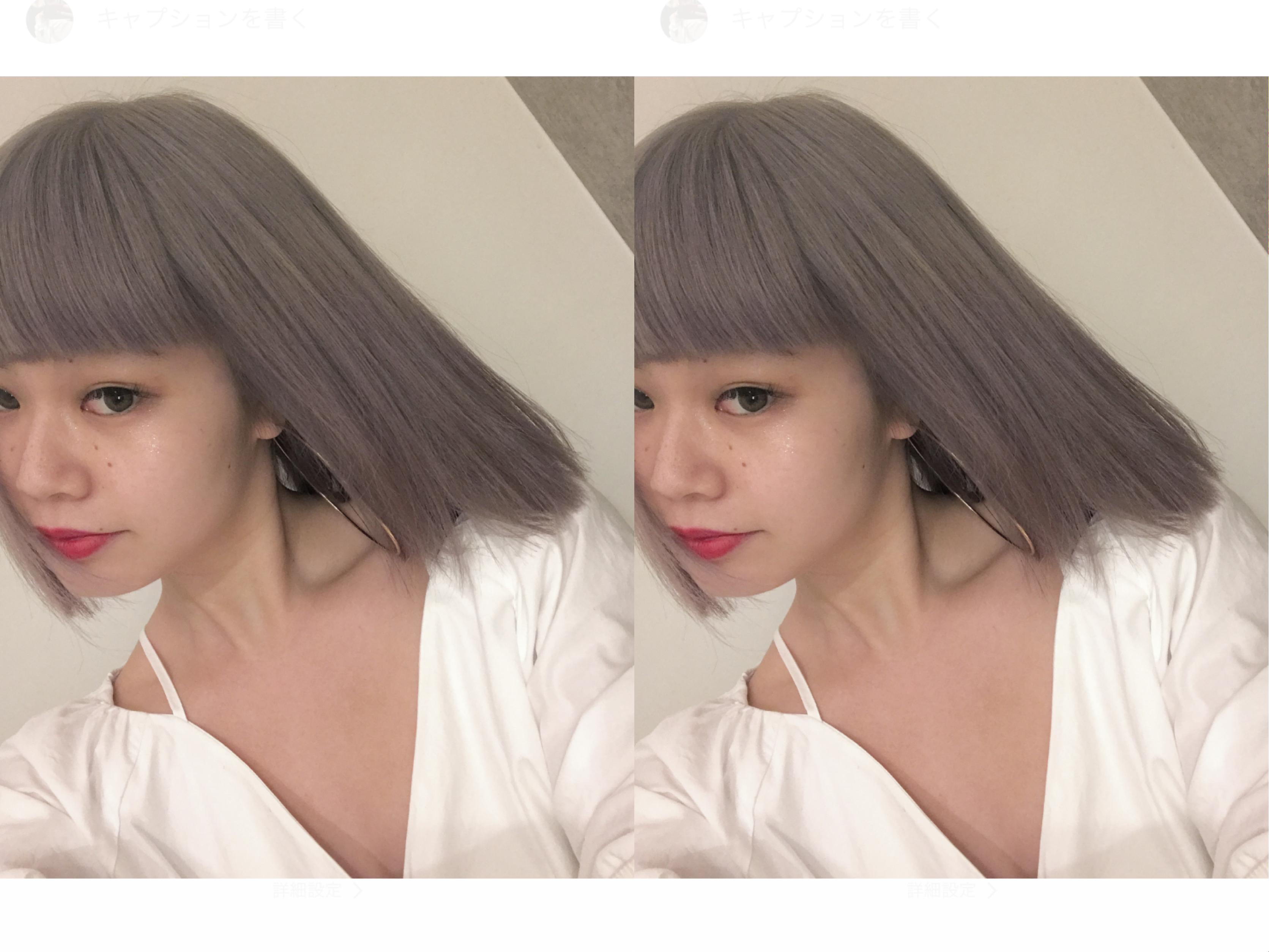 NEW COLOR♡ハイトーンカラーは#SHIMA がオススメ♡#haircolor