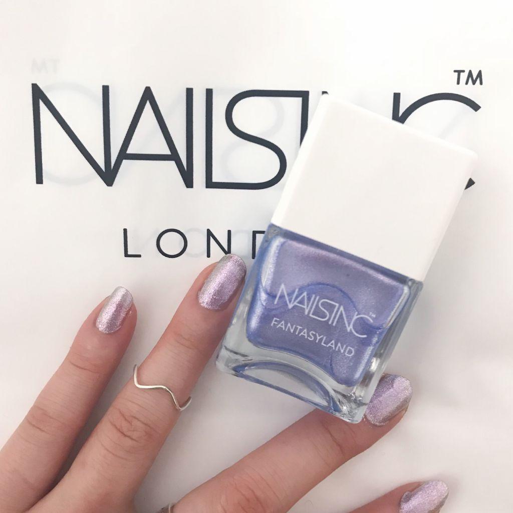指先から幻想的な煌めきを。#NAILSINC #セルフネイル