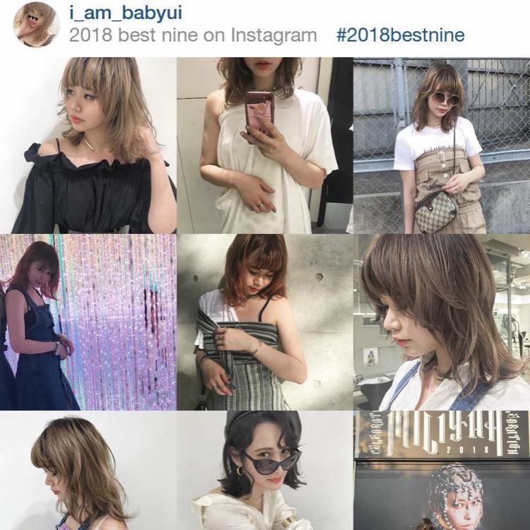 Instagramで今年を振り返ってみない?♡#2018bestnine
