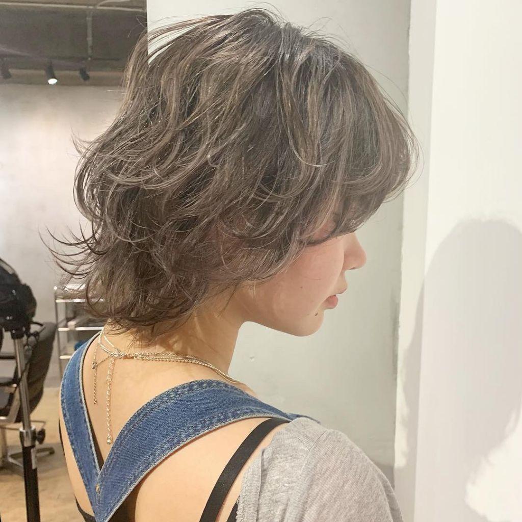 new color..♡ハイライトを活かしたくすませお洒落hair♡