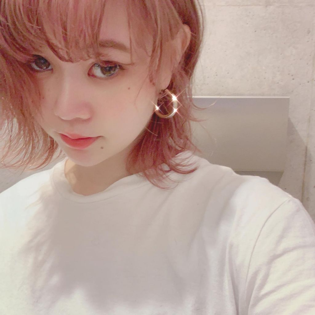 new hairはbaby pinkにしたよ♡