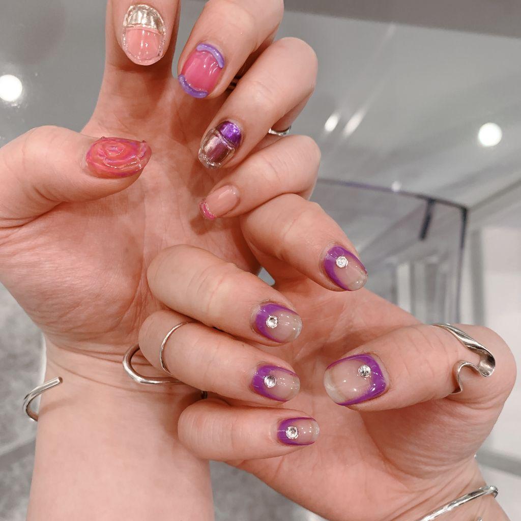 New nail♡久しぶりにジェルネイルをしたよ♡
