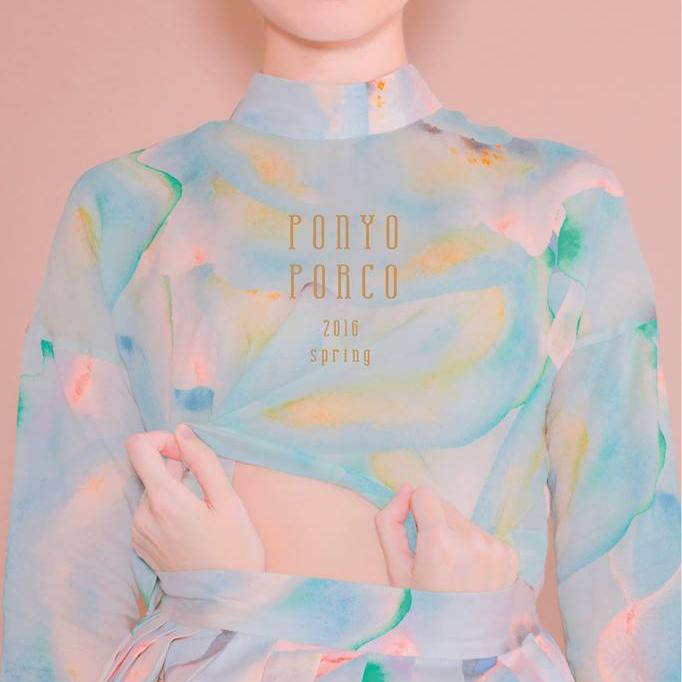 テキスタイルからカワイイ! #台湾 デザイナーブランド #PONYOPORCO のプリントはアート性が高すぎ!