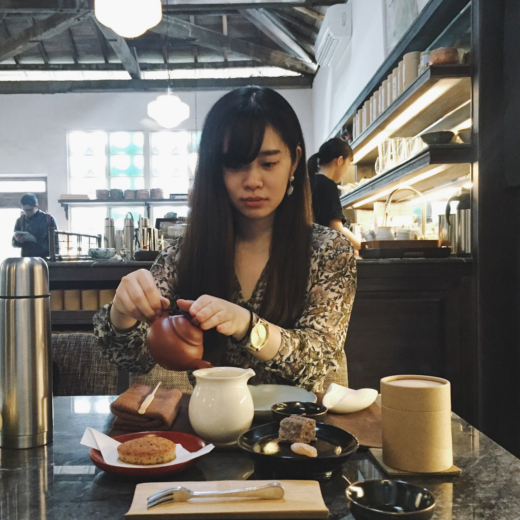 南台湾のオシャレなお店で台湾茶を堪能しながら写真撮りまくる!おすすめな2軒をまとめて紹介 ②光悅茶屋・高雄 #カフェ巡り #台湾旅行