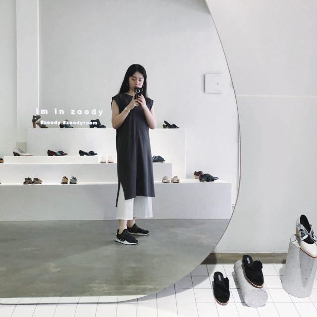 台湾ブランドも要チェック!台湾デザイナーズシューズブランド #ZOODY の新しいコンセプトショップに行ってきました! 空間も靴も素敵♡ #FASHION