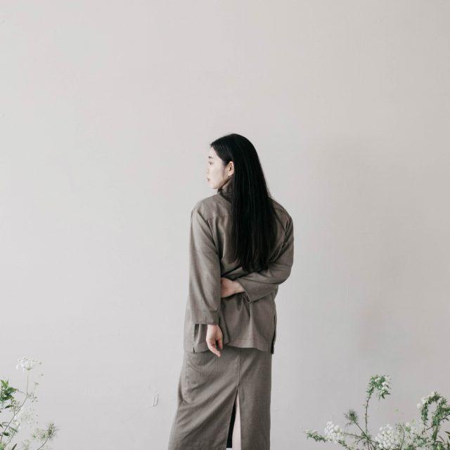 久々に仕事の様子を! 台湾ブランド #MinamiAsa のイメージモデルとビジュアルデザインを担当しました