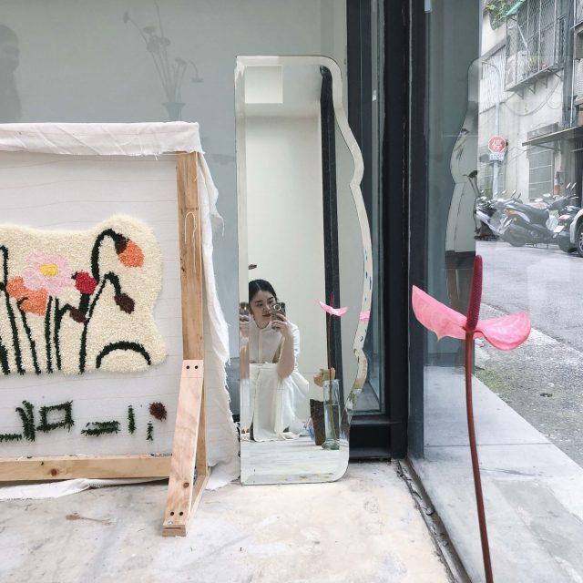 ニットデザイナー Yu mei Huang のワークショップで 自分らしいカーペットを作ってみました!