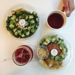 【処方箋サラダ】代官山でWealthy Healthy Lunch.♡