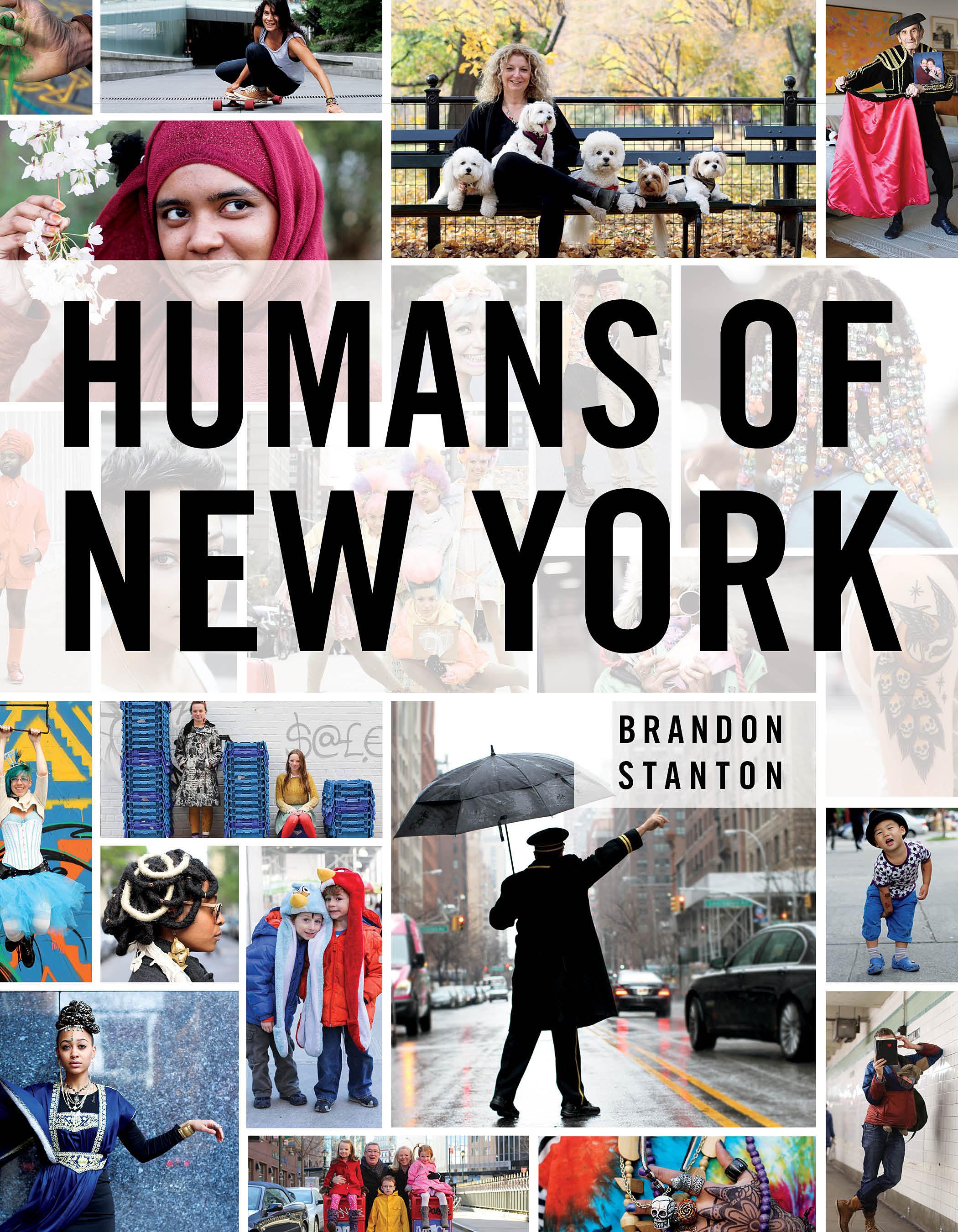 """NYCの様々な人を覗くことができる """"HUMANS OF NEW YORK"""" という本"""