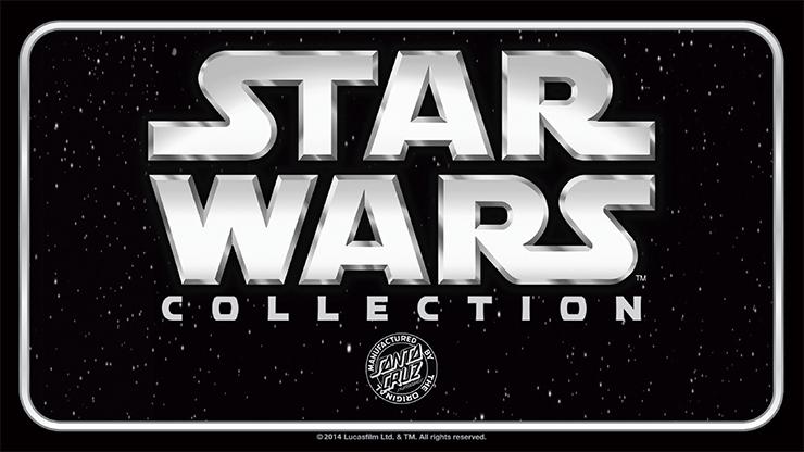 全世界で限定発売のスケートボード【Star Wars × Santa Cruz Collection】