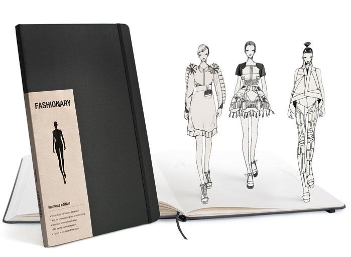 """今年こそは絶対に購入したい!ファッショニスタのためのノートブック""""Fashionary"""""""