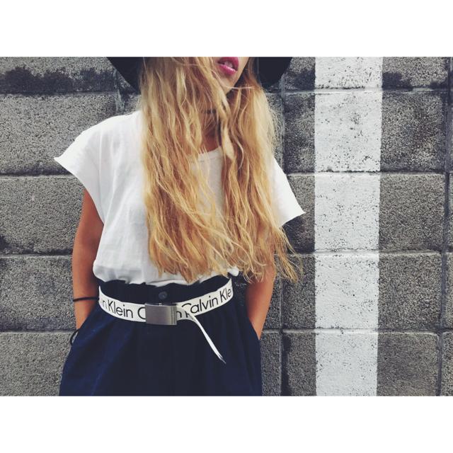 【Vintageの白Tee × でかデニムのお気に入りスタイル #OOTD】