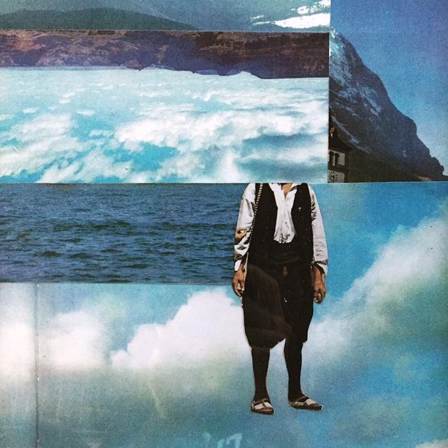 1冊の写真集だけを使ったコラージュ展「REBEL MUSICAL COLLAGE FROM THIS BOOK」