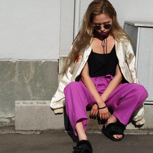 自分の好きな色をファッションに取り入れてみよう #ootd