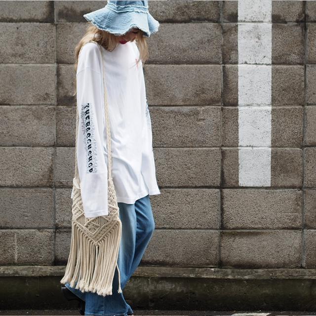 「ロングスリーブTシャツ」のシルエットを楽しもう!ずるずるコーディネートの取り入れ方 #ootd
