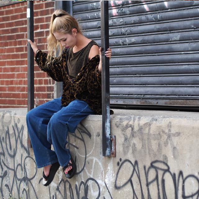 #OOTD:アニマル柄deスタイリングシリーズ第3段「ちょっとそこまでスタイル」