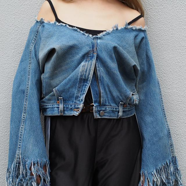 #OOTD:実は着回ししやすい「着るデニムパンツ」でスタイリング。