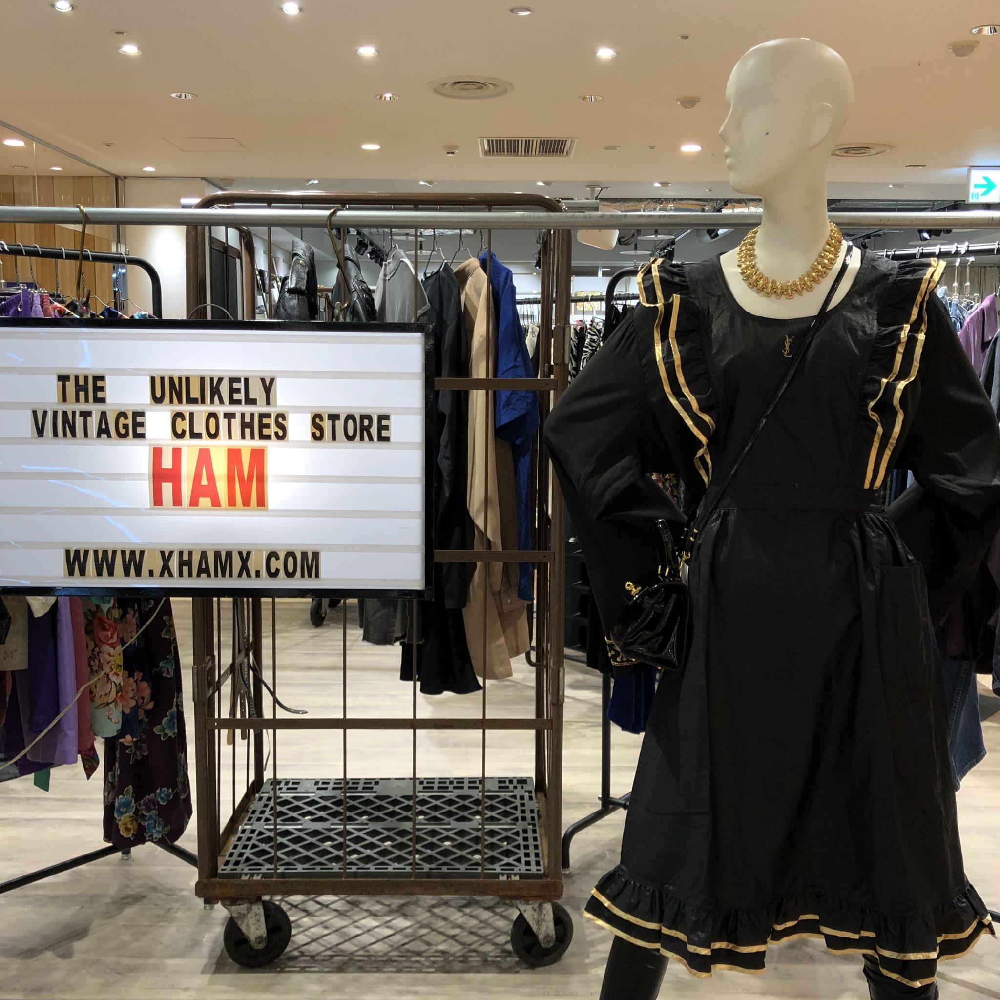 """古着屋ではない古着屋 """"HAM"""" のPOP-UP SHOPがPARCOにNEW OPEN!!"""