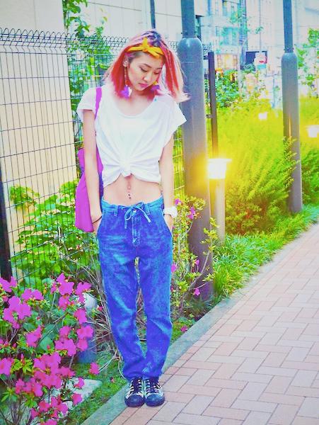 #OOTD: White Tshirt × Denimでスティーブ・ジョブス風シンプルコーデ♡