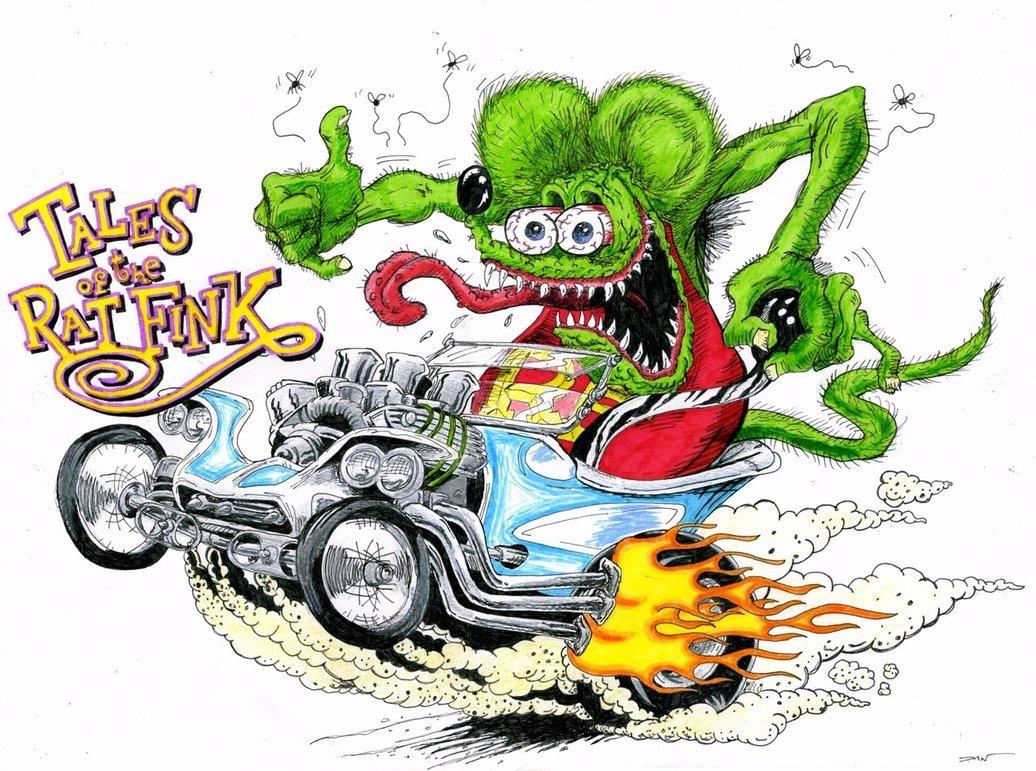 グロ可愛いをファッションに?!My favorite character: Rat Finkをご紹介♡ #ratfink #edroth