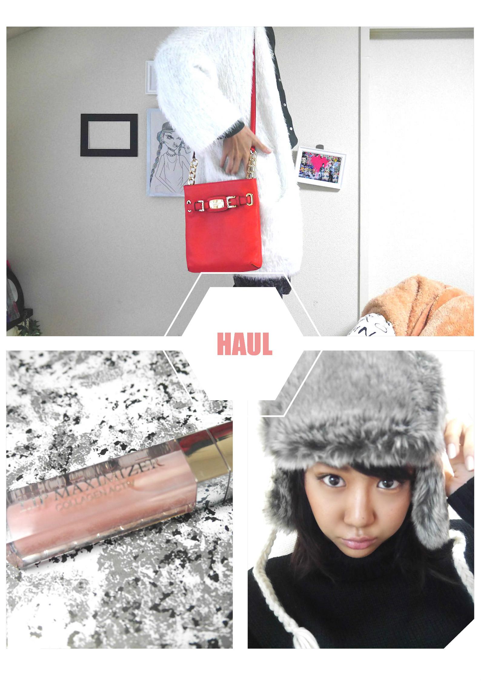 """DECEMBER HAUL!月のお気に入り購入品をアップする""""HAUL""""に挑戦。"""