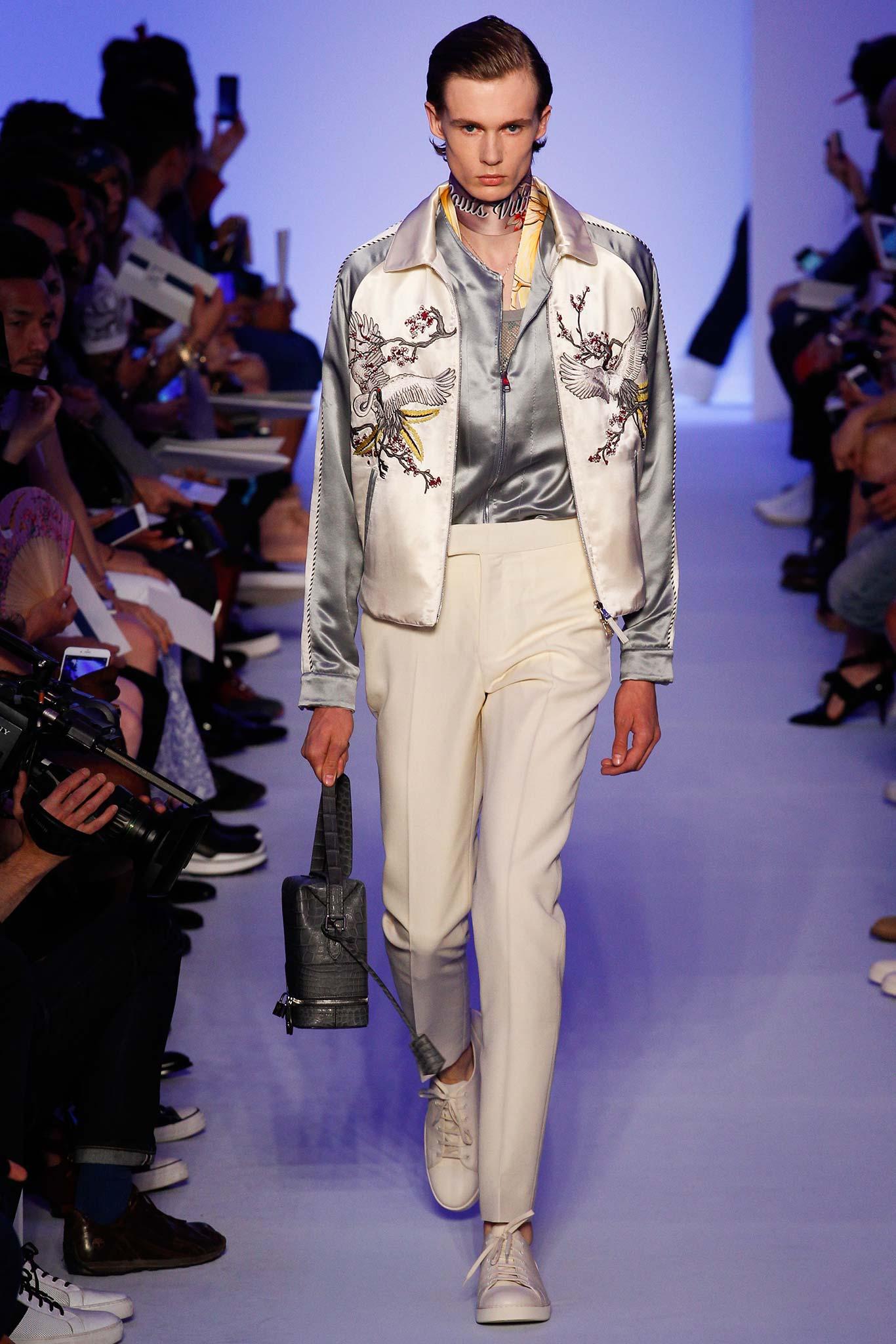 Louis Vuitton 2016 SSが提案するヤンキーファッション×モード。そして来年流行る新しいスカーフの巻き方!