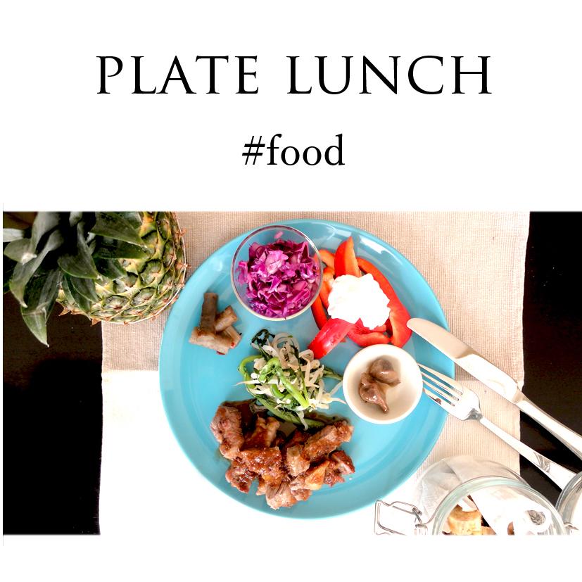 プレートランチで昼食を。#daily