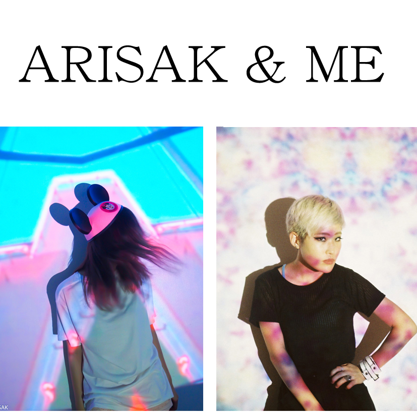 ARISAKと写真を撮り合う#shooting