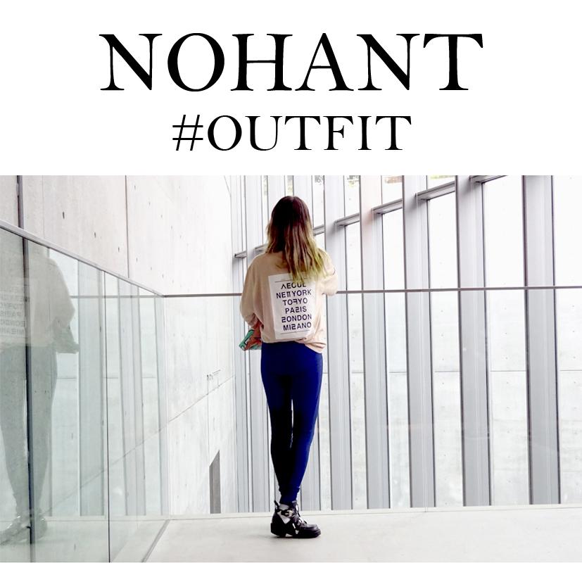 韓国のユニセックスブランドNOHANTをコーディネイト#outfit