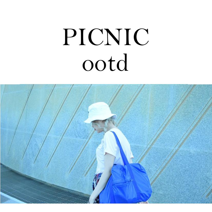 ピクニックコーデ!!!#ootd