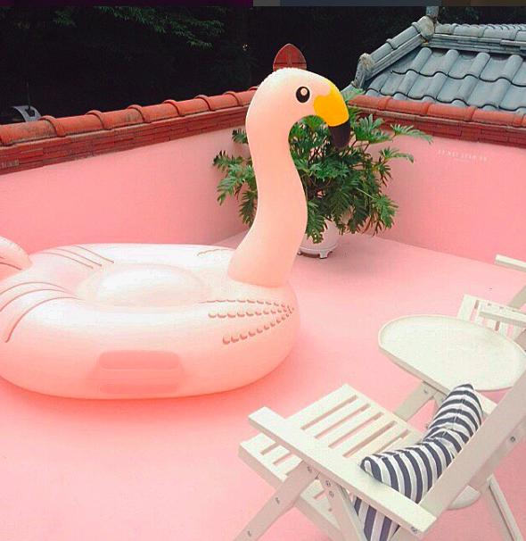 韓国のピンク色のカフェoh! lolly dayが可愛い!!@  it_s_you_