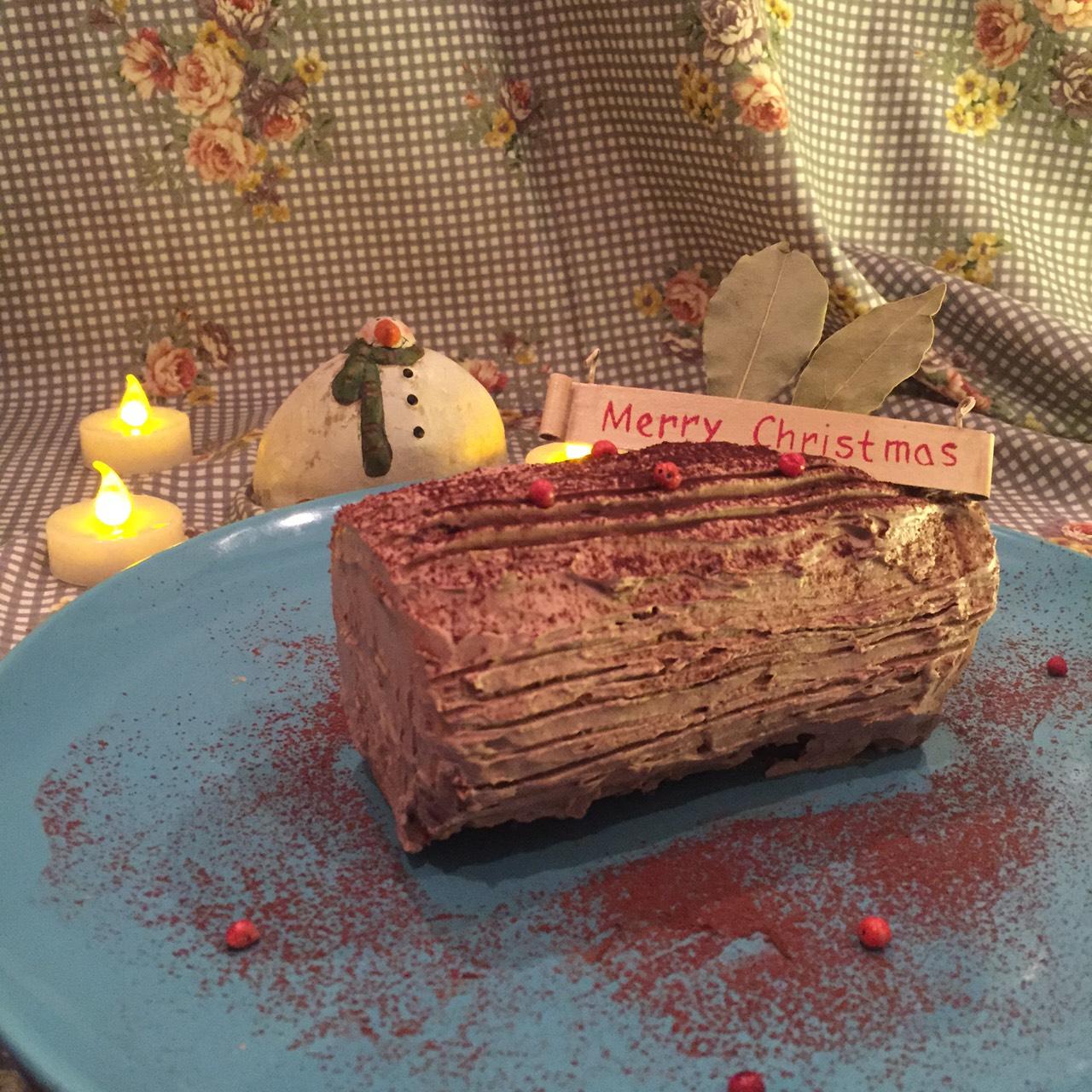 ちびまる子ちゃん(黒柳徹子)が作ったブッシュドノエルを作ってみた#クリスマス