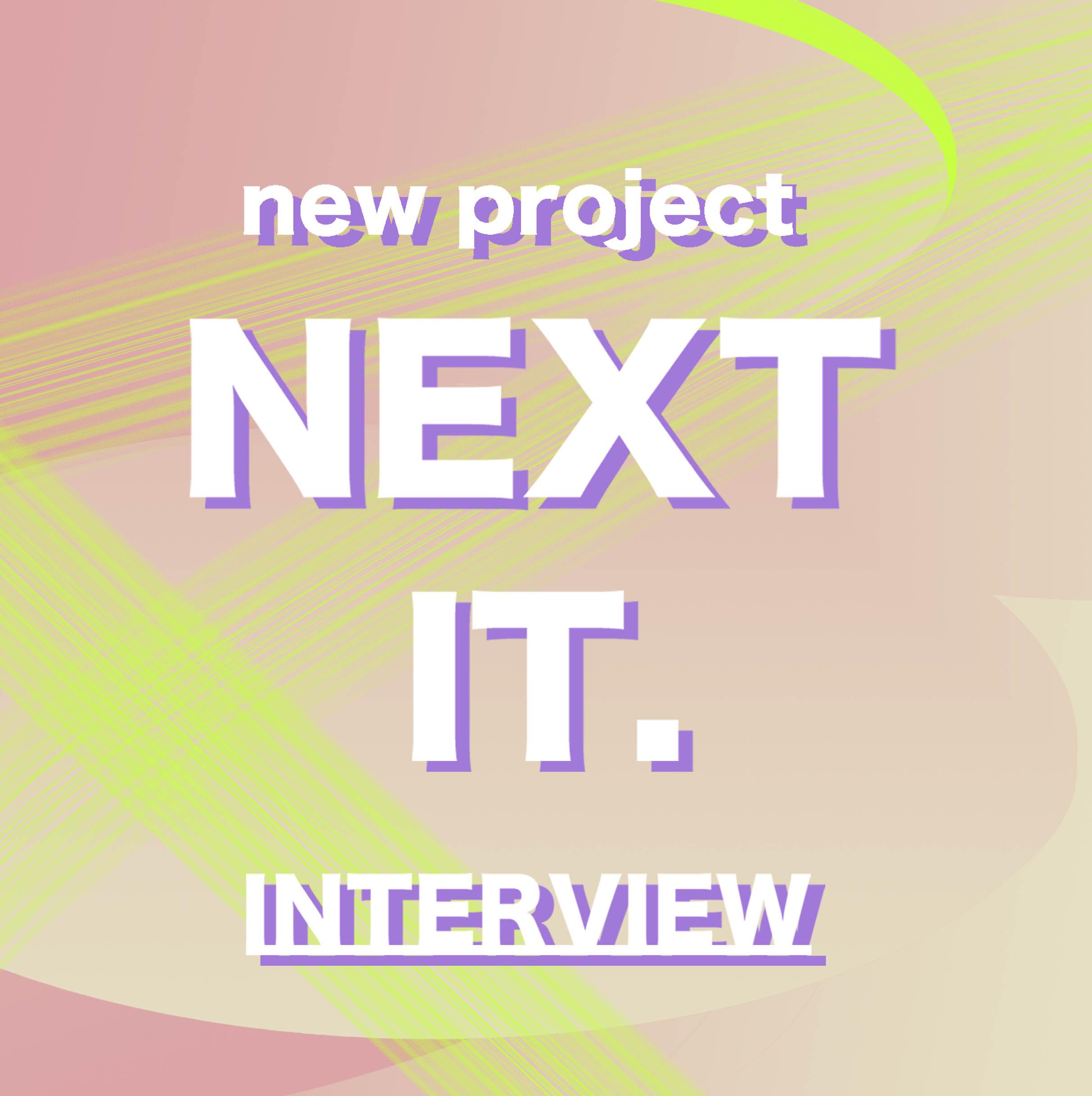 """blogger mariaがNEXT ITな人物にインタビューする""""NEXT IT interview""""企画が2月からスタート★プロローグ@it_s_you_"""