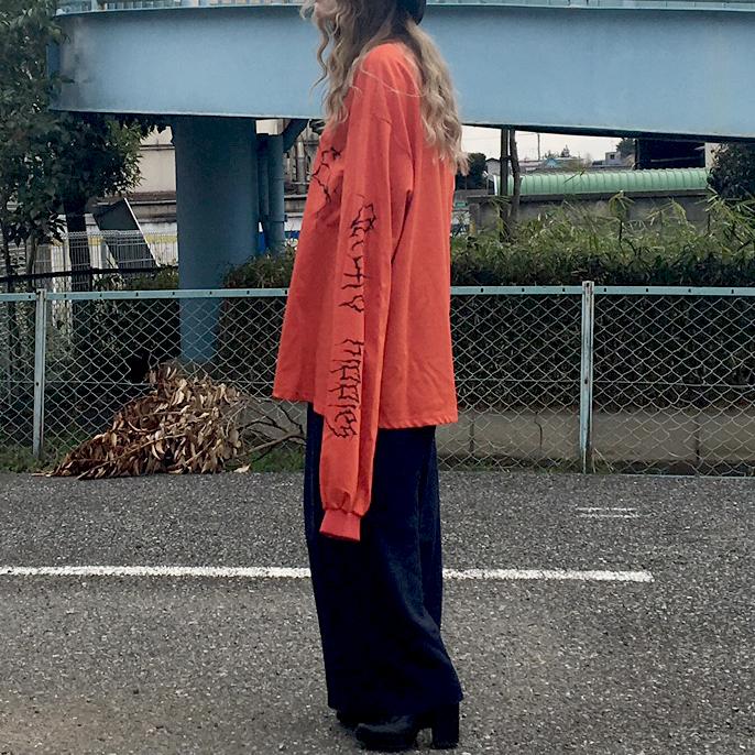 袖が長いのが可愛い!ビッグシルエット3way活用法#ootd