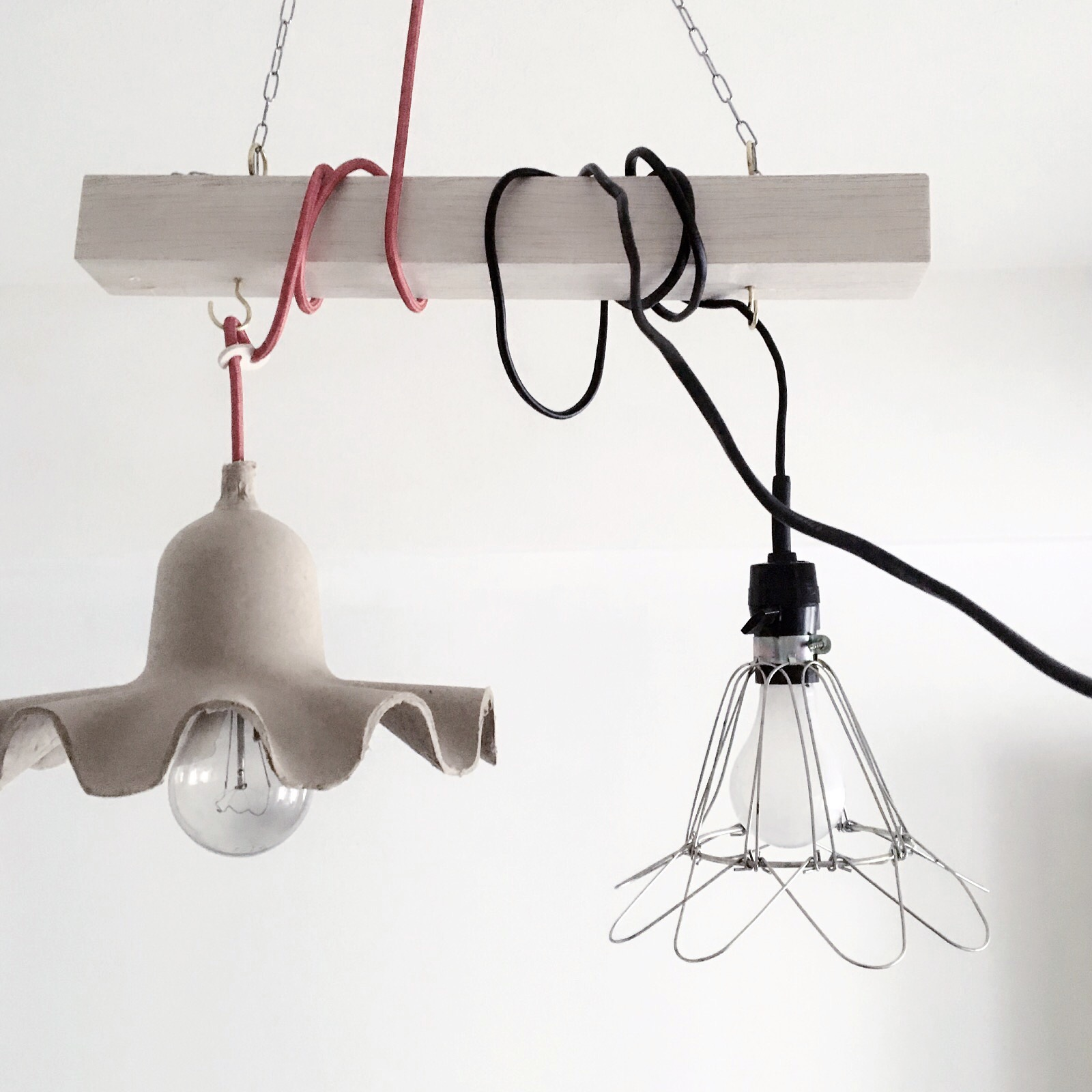 低い天井でもおしゃれに見せるペンダントライトの DIY 方法#DIY