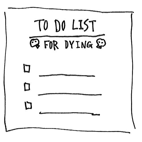 死に際リスト(人生最後を最高のパフォーマンスにするために)
