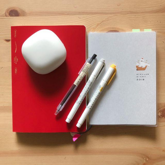 2019年のスケジュール帳+バレットジャーナル用ノートはどうする?私のスケジュール帳とノートを紹介します。