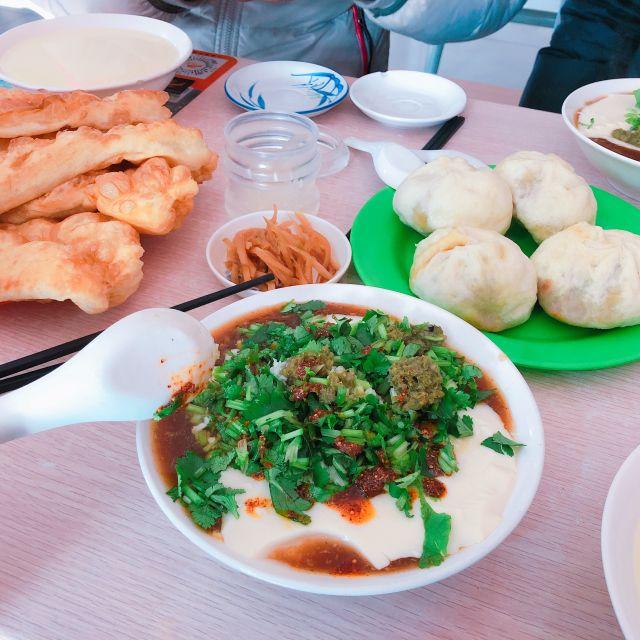 豆乳+揚げパンの朝ごはん❤︎内モンゴル料理をたべてみた2  #モンゴル #内モンゴル料理