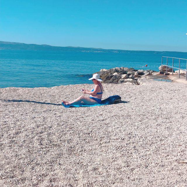 クロアチアのスプリトのビーチが最高すぎた話