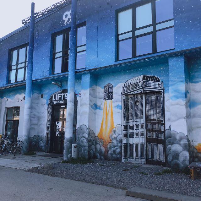 タリンのデザイン村が廃墟感があって楽しい