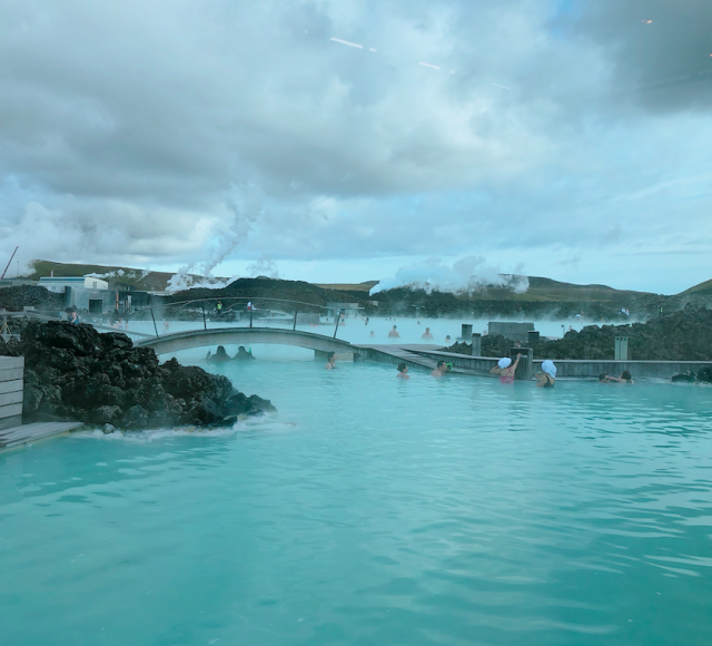 大自然露天風呂、のブルーラグーンに行ってきた。