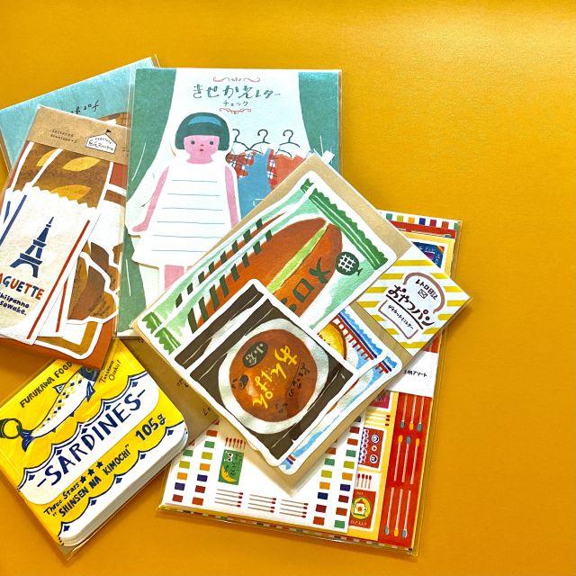 文通やノートタイムにピッタリ!古川紙工のミニレターセットの紹介♡