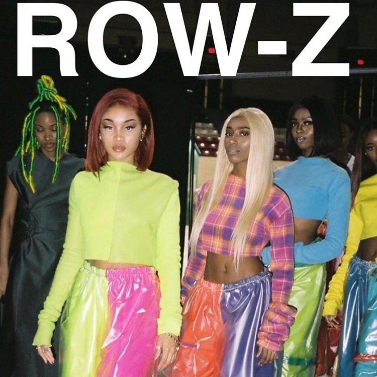 今 #NYで話題沸騰中  #ROW-Z に直接インタビューしちゃいました!!
