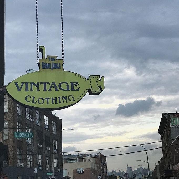 NYの古着屋といえば!! #NY #fashion #vintage #古着 #90s